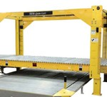 Quik-Lift Conveyor bundle / stack versatility